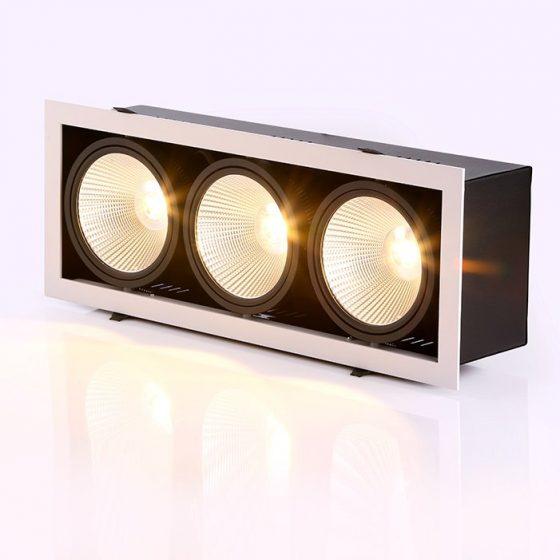 SL3493 Grid-150 Series Recessed LED Downlight