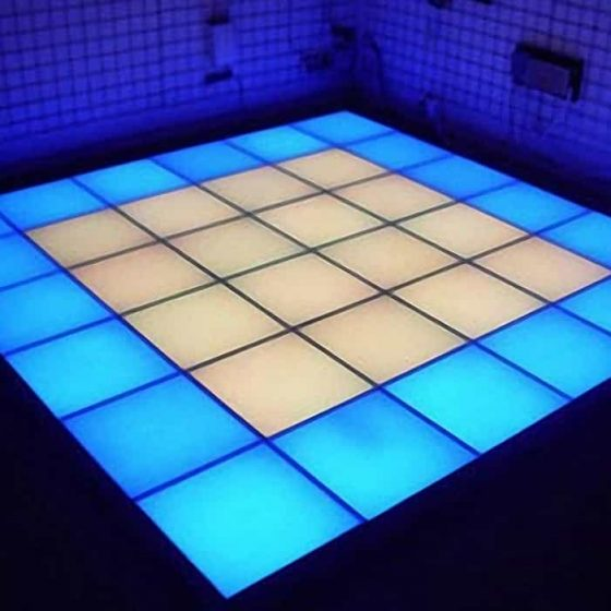 Superlight led dance floor