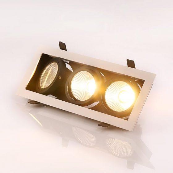 SL3393 Superlight Grid-100 LED Downlight Series