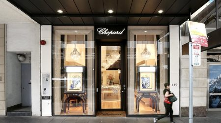 Chopard Signage Lighting Project