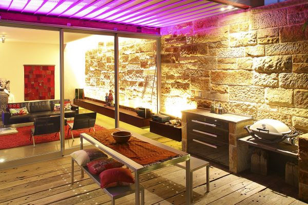 Interior Lighting Project at a residential property in Erskineville Sydney