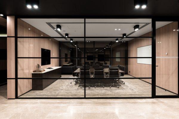 Fleet partners office fitout lighting project