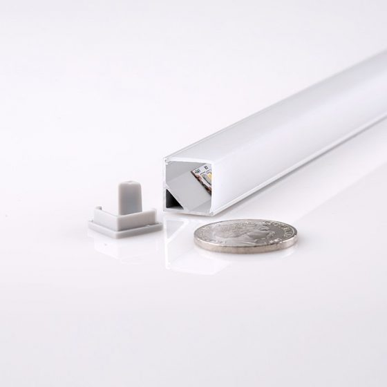 HLP4104 Surface Mounted Joiner LED Mounting Profile