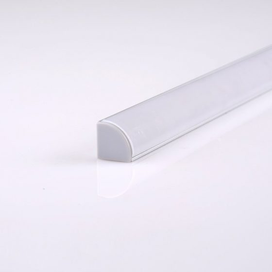 HLP4105 Corner 45-Degree LED Mounting Profile