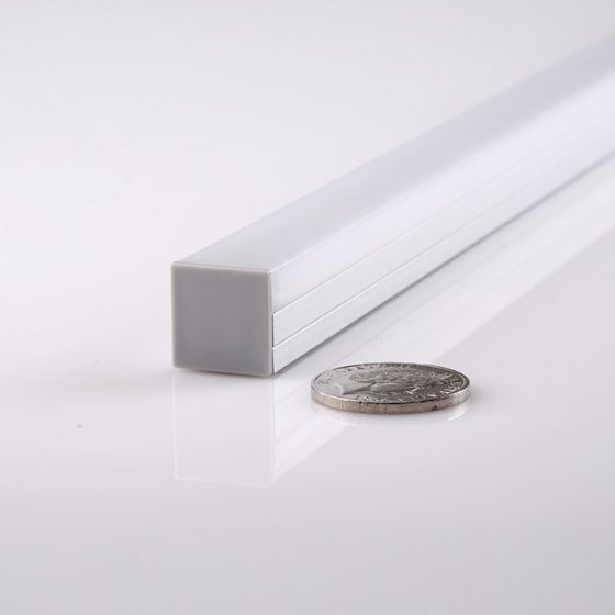 HLP4108 Square Cassette LED Mounting Wrap Diffuser