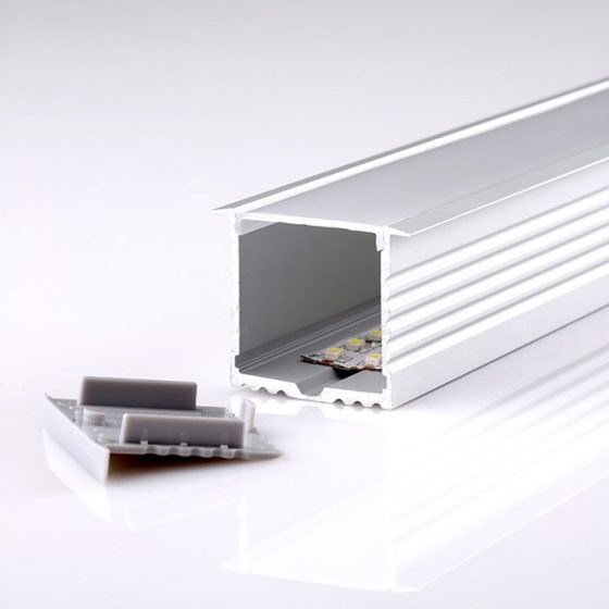 HLP4119 Square Recessed LED Mounting Profile