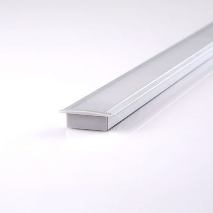 HLP4121 Wide Recessed LED Mounting Profile