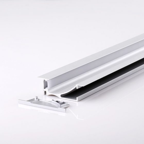 HLP4130 Recessed Wall Indirect LED Mounting Profile