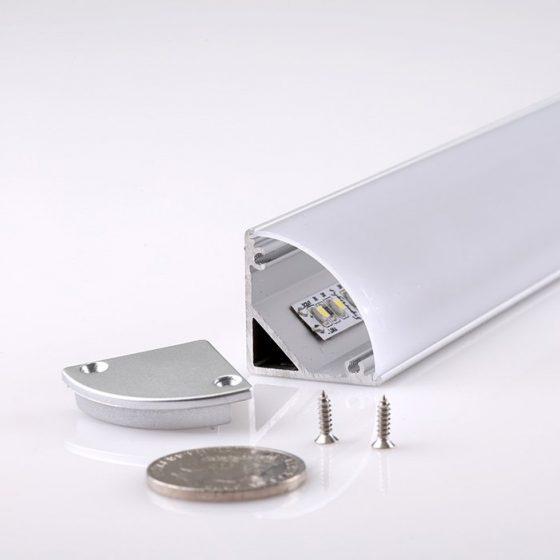 HLP4132 Large Corner LED Mounting Profile