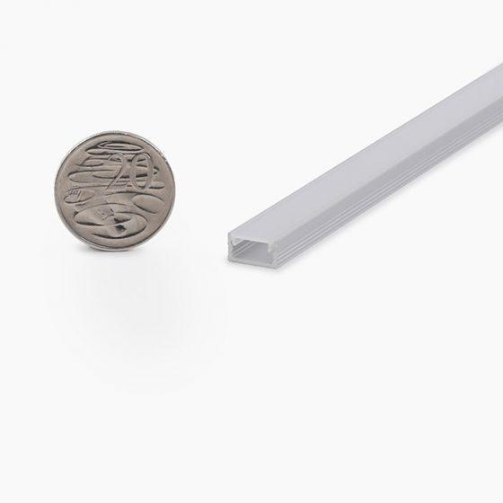 HLP1307 Linear LED Lighting Profile INC Opal Diffuser