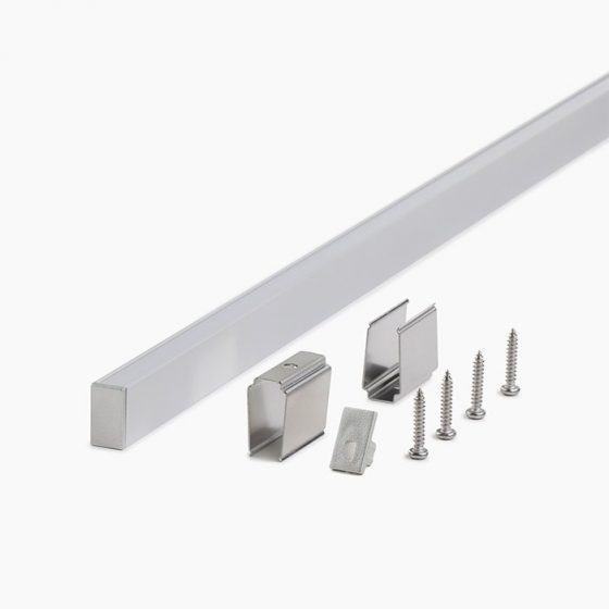 HLP3110 LED Mounting Profile With Opal Diffuser