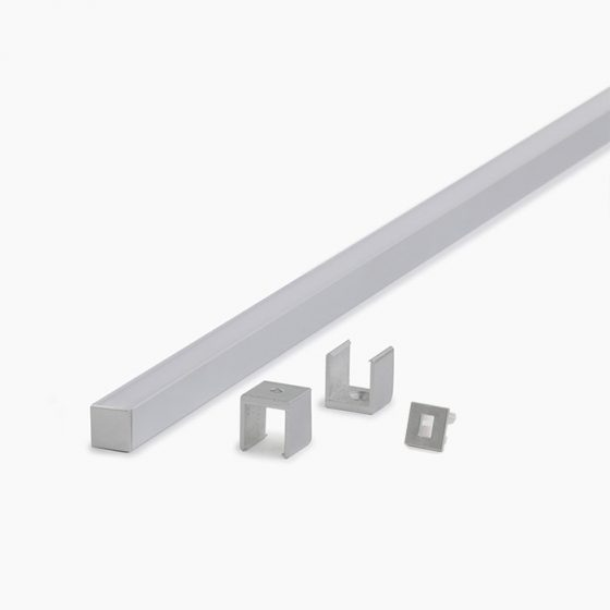 HLP3111 LED Mounting Profile With Opal Diffuser