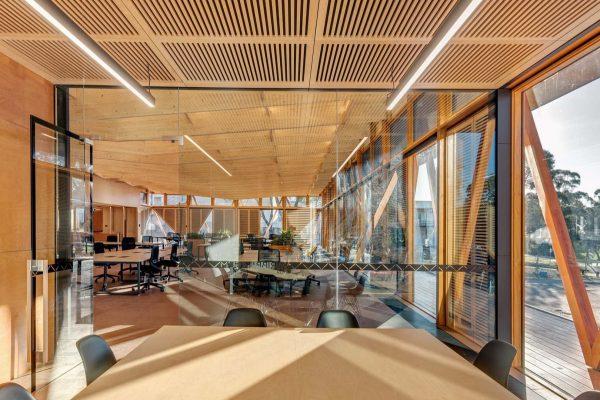 Macquarie University Innovation Hub Lighting project
