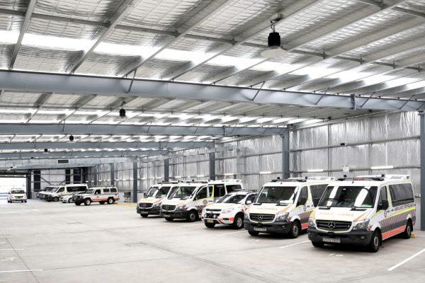 NSW Ambulance Lighting project