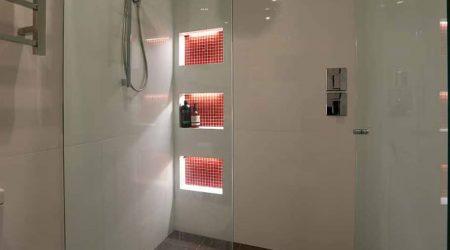 Shower Niche Lighting project