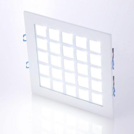 SL3422 Square LED Downlighter 25W