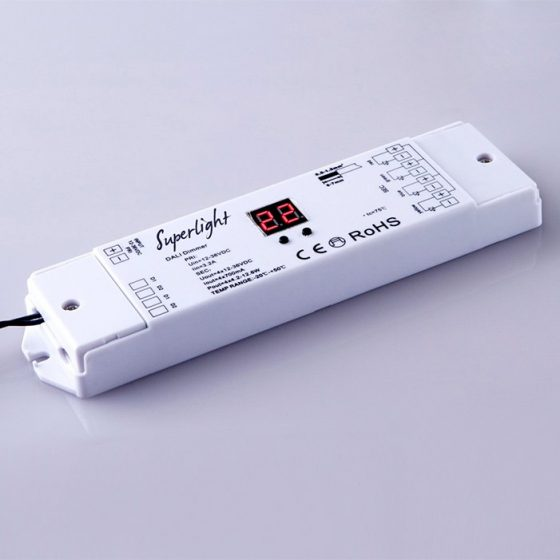 Superlight SL5051 DALI LED Controller 12/24VDC