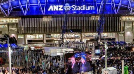 ANZ Stadium Lighting By Superlight