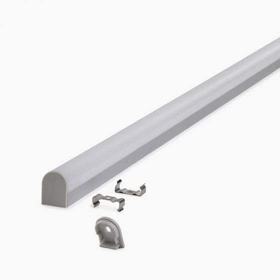 HLP3692 LED Mounting Profile With Round Cassette Diffuser