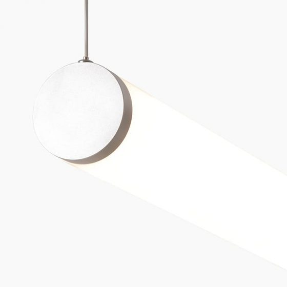 LUST70 is a tubular linear led profile by Superlight