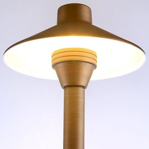 SL6468 Superlight Aged Copper Garden Post Light