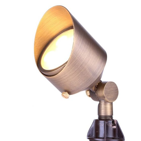 SL6564 Aged Copper 6W Garden Spotlight