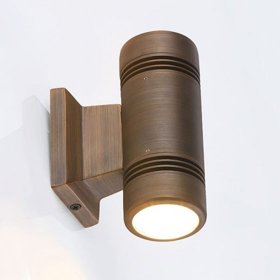 SL6567 Aged Copper Up/Down LED Wall Light