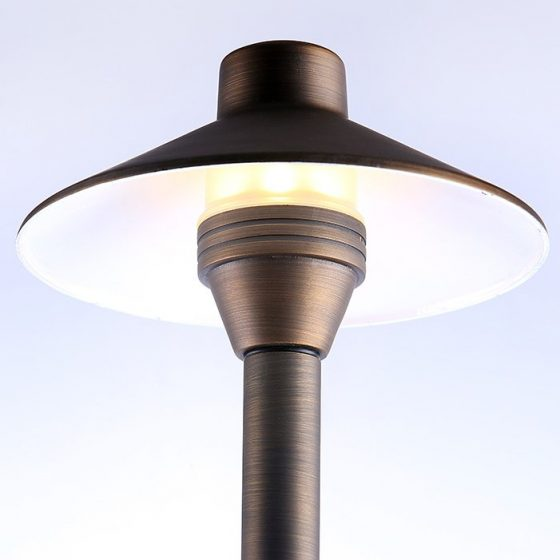 SL6468 Superlight Aged Copper Garden Post Light