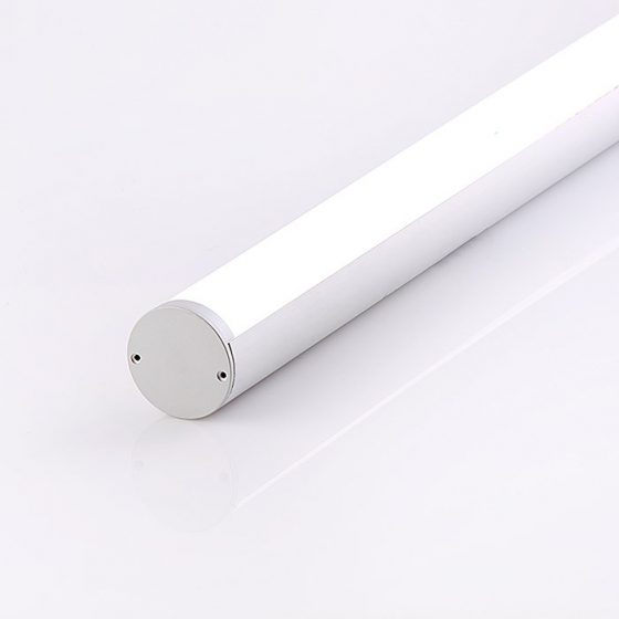 HLP0040 Round Linear LED Profile W/Opal Diffuser
