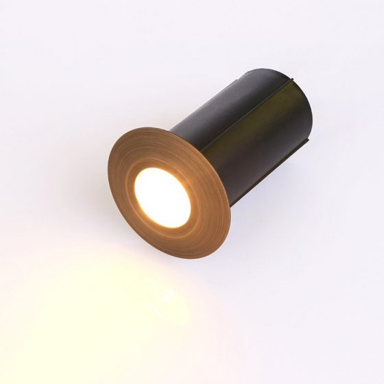 SL6561 Aged Copper Recessed LED Uplight