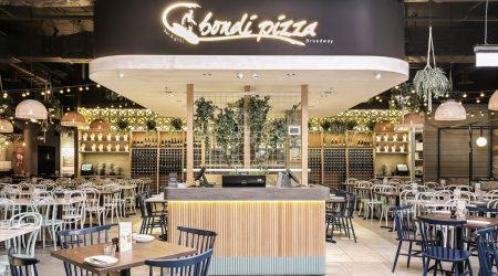 Bondi Pizza Broadway Sydney Lighting Project