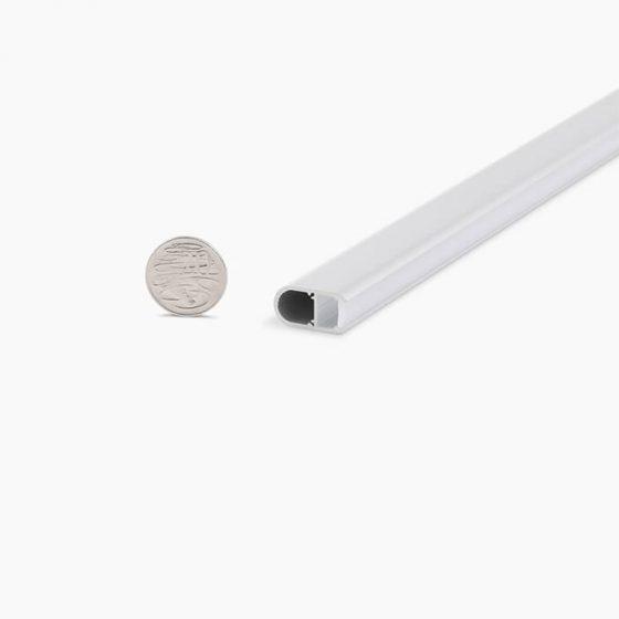 HLP3328 Oval Wardrobe Rail LED Lighting Profile