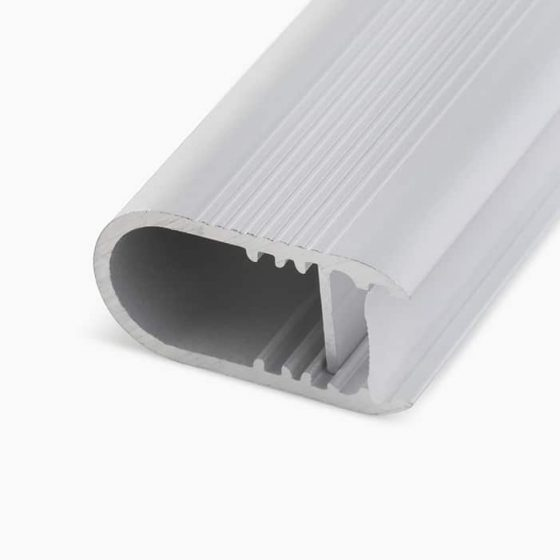 HLP3329 Oval Wardrobe Rail LED Lighting Profile