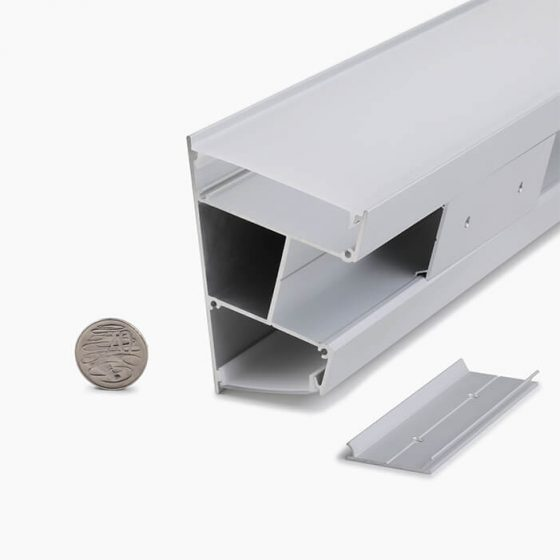 HLP3364 Wall Mounted Linear LED Profile Luminaire