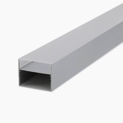 HLP3384 Clip Mounted Linear Lighting Profile