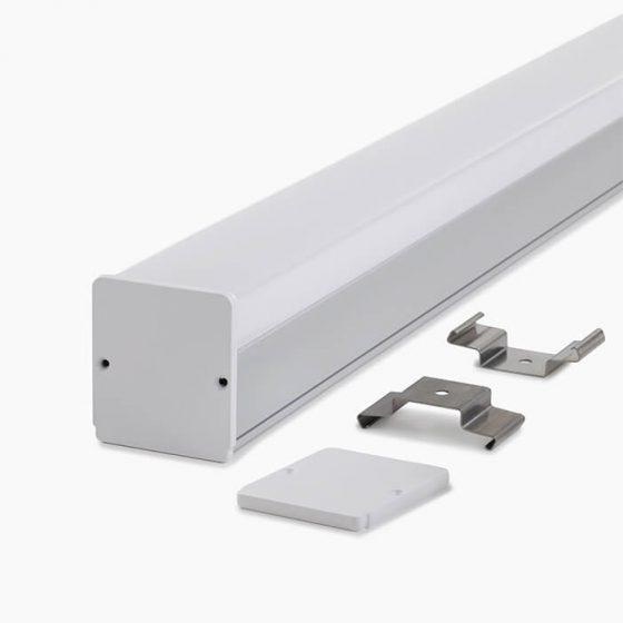HLP3386 Rail Linear LED Lighting Profile