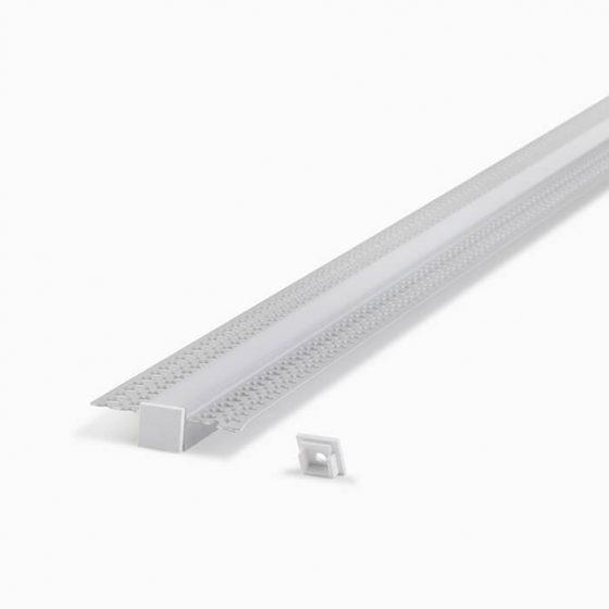 HLP3646 IP67 Waterproof Plaster Trimless Mounting Profile