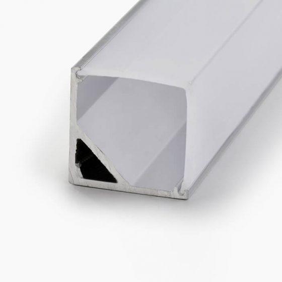 HLP3648 Corner Square LED Mounting Profile