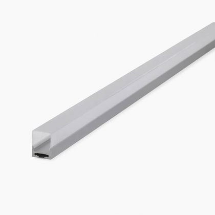 HLP3690 LED Mounting Profile With Square Cassette Diffuser