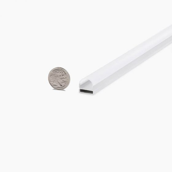 HLP3714 Surface Mounted Dome LED Mounting Profile