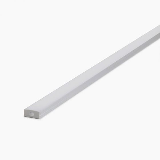 HLP3718 Surface Mounted Wide LED Mounting Profile
