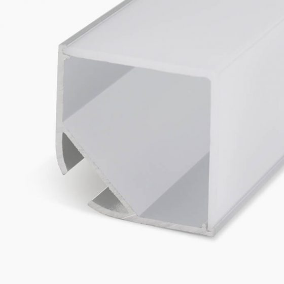 HLP3720 Corner Casette LED Mounting Profile Square