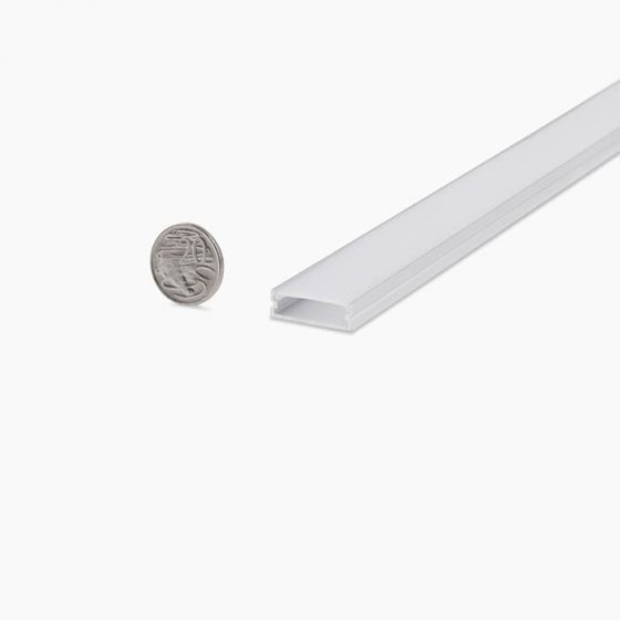 HLP3724 Flat Wide LED Mounting Profile