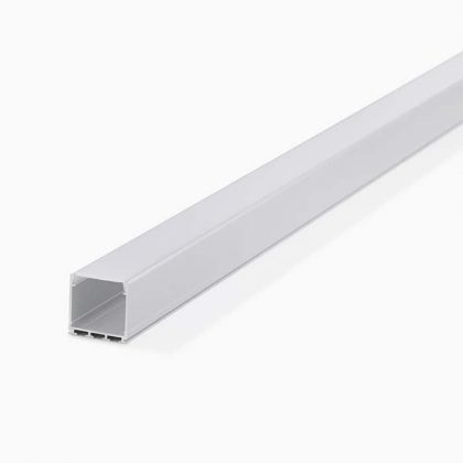 HLP3744 Square Surface LED Mounting Profile