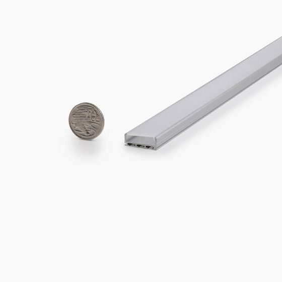 HLP3748 Flat Wide LED Mounting Profile