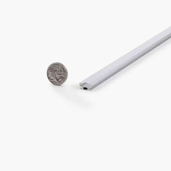 HLP3774 Small Half-Round LED Mounting Profile
