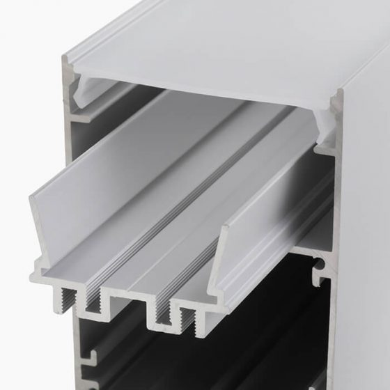 HLP3804 Surface Or Suspended Mounting Profile