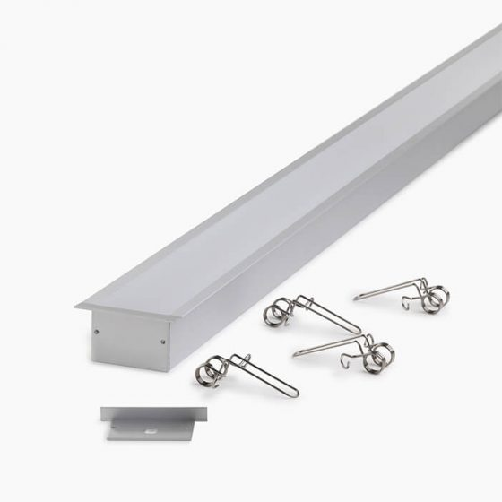 HLP3812 Ceiling Recessed LED Mounting Profile