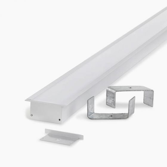 HLP3816 Ceiling Recessed LED Mounting Profile