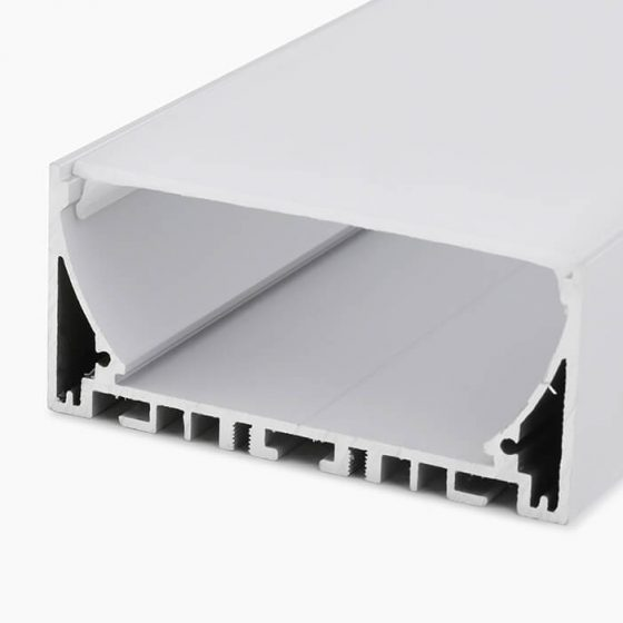 HLP3820 is a professional LED extrusion for suspended linear lighting.